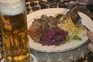 rouladen with beer